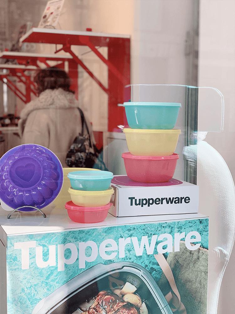 Tupperware et ses célèbres boîtes hermétiques