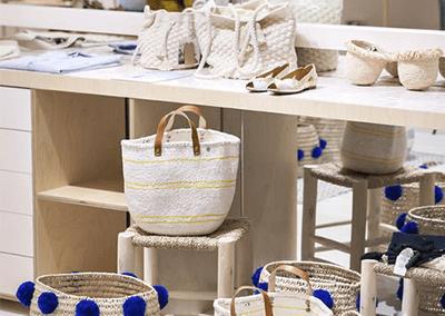 comment décorer sa boutique éphémère