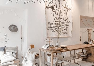 décorer sa boutique éphémère