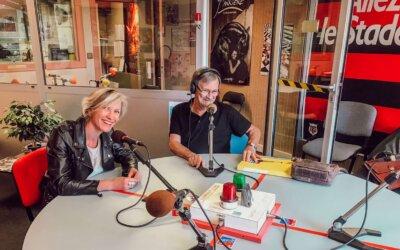 L'Emplacement, passé, présent et futur par Lucie Breton à l'antenne d'Altitude FM