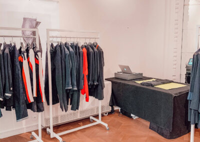 pop-up store prêt-à-porter