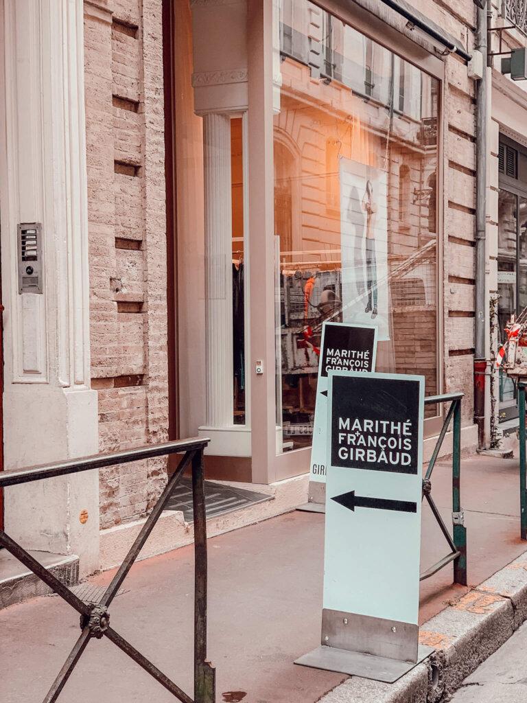 boutique éphémère marithé François girbaud