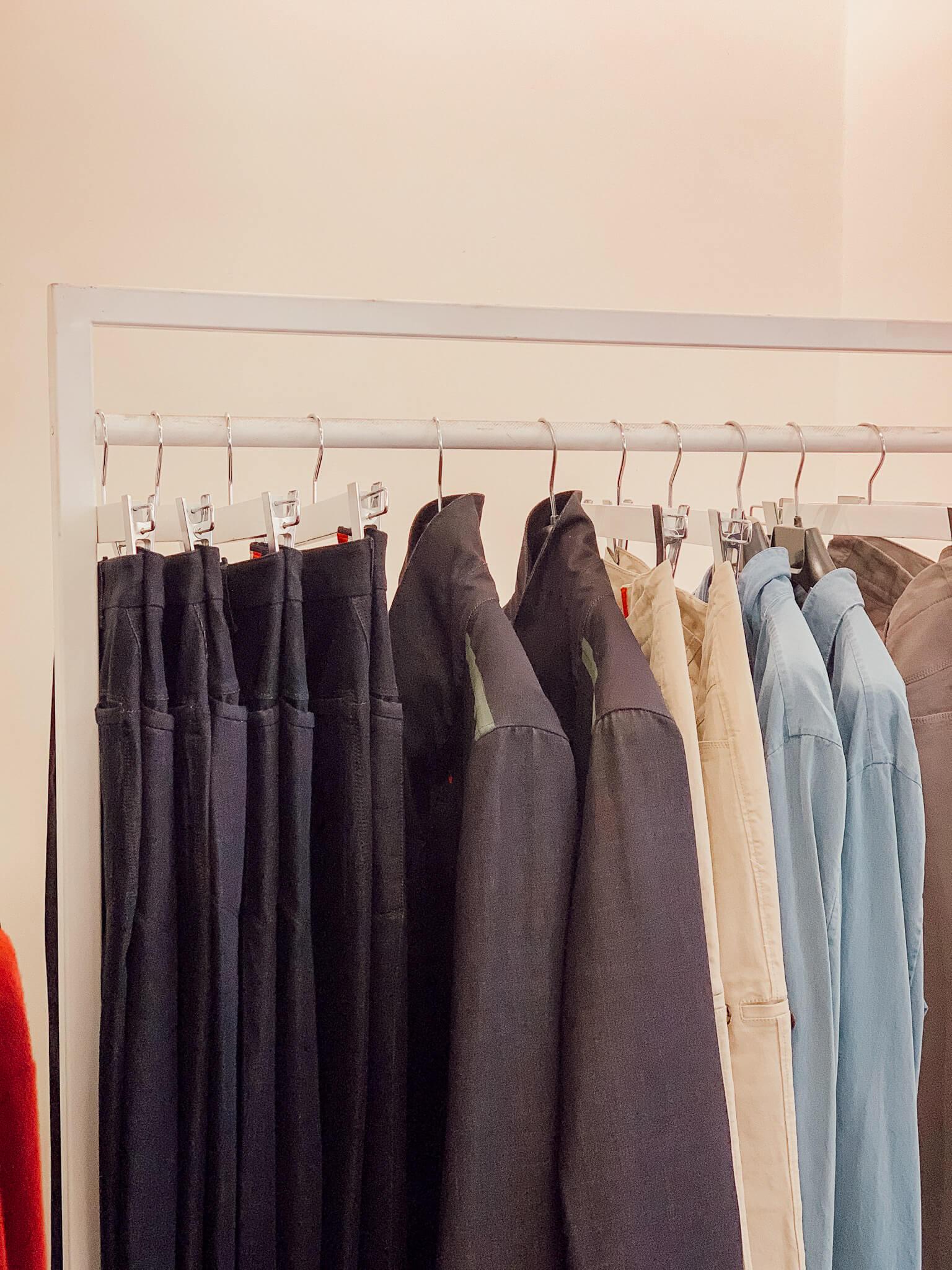 pop-up store vêtements